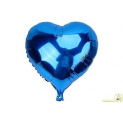 Palloncino a forma di Cuore Blu 45cm