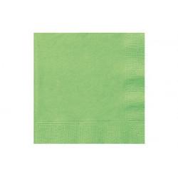 Tovaglioli 25x25 - 2 veli 100 pz Verdi