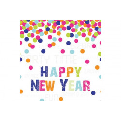 Tovaglioli 33x33 - 3 veli pz 20 tema Happy New Year