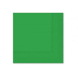 Tovaglioli 33x33 - 2 veli 50 pz Verde Smeraldo