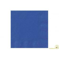 Tovaglioli 25x25 - 2 veli 100 pz Blu
