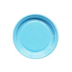 Piatto Frutta Azzurro cm 17 pz 50
