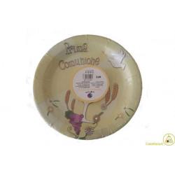 Piatto Frutta Comunione 18cm 6pz