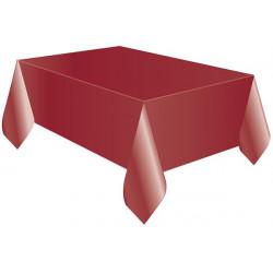 Tovaglia Quadrata Bordeaux in Cotonato Monouso 100x100cm