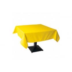 Tovaglia Quadrata Gialla in Cotonato Monouso 100x100cm