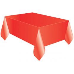 Tovaglia Quadrata Rossa in Cotonato Monouso 100x100cm