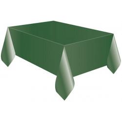 Tovaglia Quadrata Verde in Cotonato Monouso 100x100cm