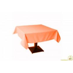 Tovaglia Quadrata Arancione in Cotonato Monouso 100x100cm