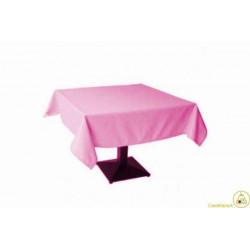 Tovaglia Quadrata Rosa in Cotonato Monouso 100x100cm