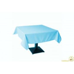 Tovaglia Quadrata Azzurro in Cotonato Monouso 100x100cm