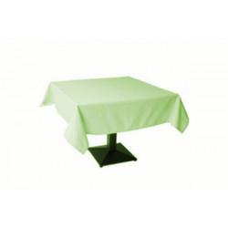 Tovaglia Quadrata Verde Kiwi in Cotonato Monouso 100x100cm