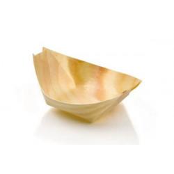 Barchetta in legno Piroga Finger Food 8cm 18pz
