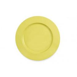 2 Sottopiatto in cartoncino diametro cm 32 giallo