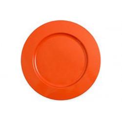 2 Sottopiatto in cartoncino diametro cm 32 arancione
