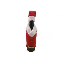 Vestitino Babbo Natale per bottiglia