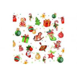 Tovaglioli 33x33 - 3 Veli pz 20 tema Tree Decorations