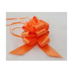 Coccarda autotirante gran fiocco Arancione 5cm 10pz