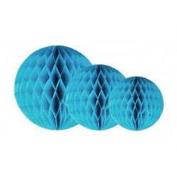 Festone in carta globo cm 30 Azzurro