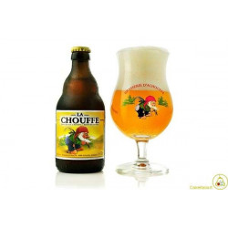 La chouffe Blonde lager beer 33cl 8%