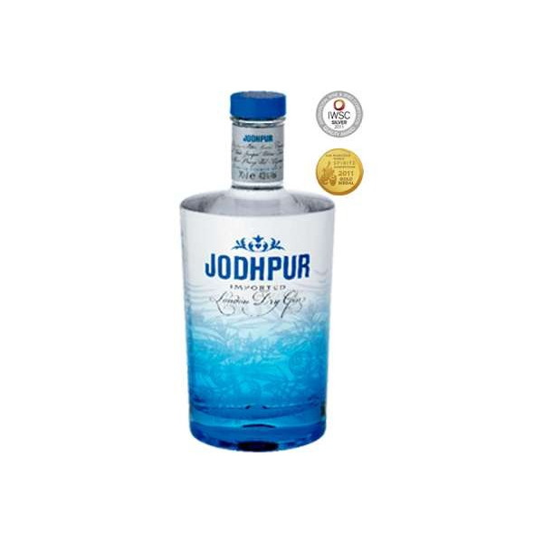 70 cl di Jodhpur London Dry Gin 43% Vol