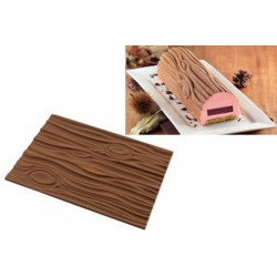 Tappeto Torte Tronchetto Legno Magic Wood Mat