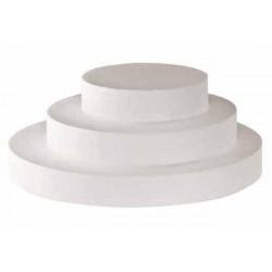 Disco pieno Polistirolo 5cm Altezza 25cm Diametro