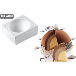Stampo Zuccotto Tortaflex Zuc Bianco 115 mm 400 ml