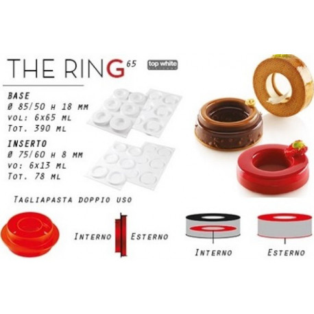 Kit The Ring Stampo Dolce Ciambella 65 ml