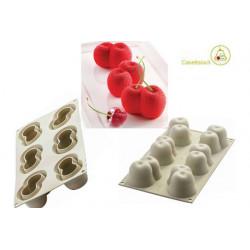 Stampo Ciliegia Rossa 3D