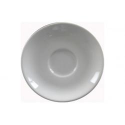 Piattino Caffè Bianco in Porcellana