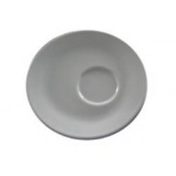 Piattino Caffè Diamante Bianco in Porcellana