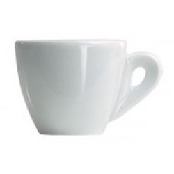 Tazza Caffè Ottavia Bianca in Porcellana