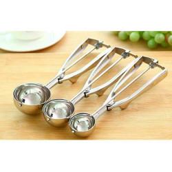 Porzionatore a forbice per gelato cm 5 in acciaio inox