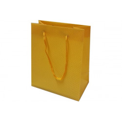 Wedding bag shopper in PVC Arancione 14x11cm