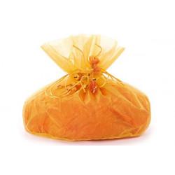 Sacco Arancione in Organza per colomba 22x32x40cm