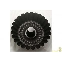 Stampo Budino / Margherita con tubo 24 x 9 cm teflonato
