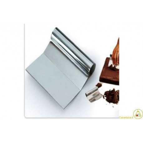 Spatola Raschia per Cioccolato in Acciaio inox cm 12