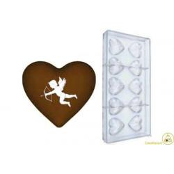 Stampo Cioccolato Cuore Cupido 9 gr