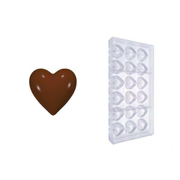 Stampo cioccolato cuoricini