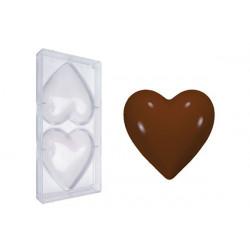 Stampo cioccolato cuore magnum cm 12
