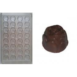 Stampo per cioccolato forma rose