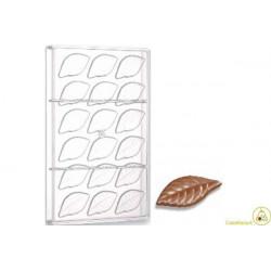 Stampo cioccolato foglia