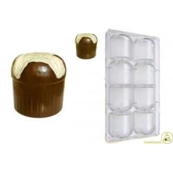 Stampo cioccolato panettoncino
