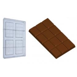Stampo Cioccolato Tavoletta gr 50 rettangolare in polcarbonato
