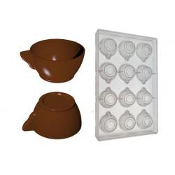 Stampo Cioccolato Tazzine Ø42