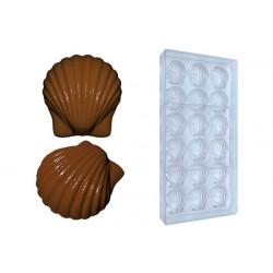 Stampo cioccolato conchiglia