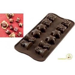 Stampo cioccolatini Christmas Natalizi