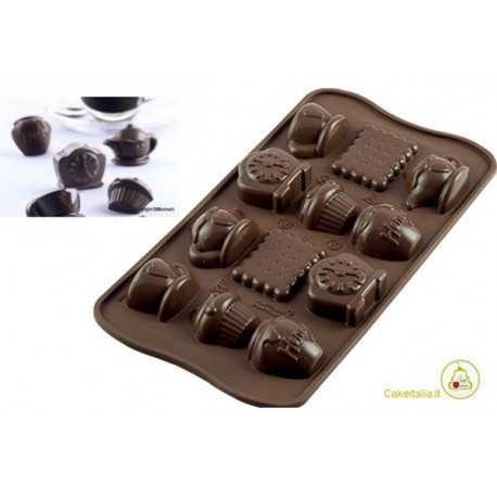 Stampo cioccolatini Teatime