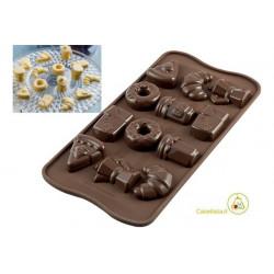 Stampo Cioccolatini Buon Giorno o Good Morning