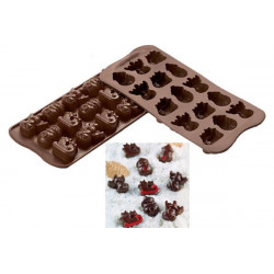 Stampo cioccolatini Choco Winter